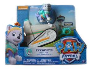 Paw Patrol Everest Basic Vehicle - £12.99 + £3.99 p&p (£16.98) unless you spend £20.00 for free delivery @ Amazon.co.uk