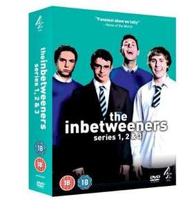 The Inbetweeners: Channel 4 Complete Series 1, 2 & 3 + DVD Exclusive Extras (VERY GOOD) £2.06 @ Ebay/estocks