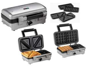 Cuisinart 2-in-1 Sandwich and Waffle Maker - £40.78 @ Costco
