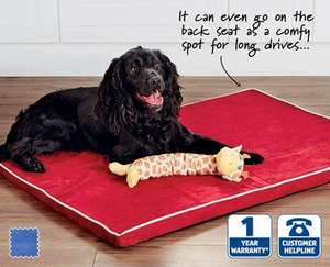 Large Memory Foam Pet Bed £12.99 from 13th August @ ALDI