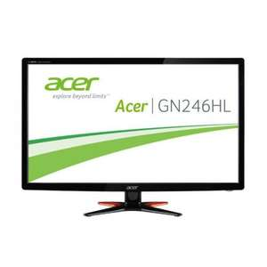 "24"" Acer Predator GN246HLbid LED 144Hz Gaming Monitor 1080p, 350cd/m², 1ms, Nv 3D Ready - £143.99 (+£9.58 del for non-forum members) Today Only @ Scan"
