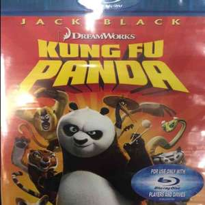 Kung fu panda blu ray £1 in store @ tesco (national!)