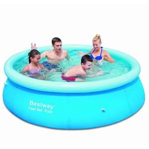 "The Cheapest Bestway Fast Set Paddling Pool 8 x 26"" NOW £4.99 @ B&M"