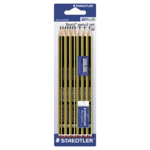 Staedtler 10 HB Noris Pencils With Eraser & Sharpener at Tesco Direct - £1.50
