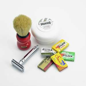 DE starter shaving kit was £44.15 Now £30.90 @ ShaveLounge.co.uk