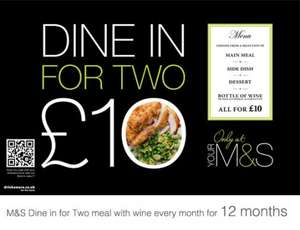 M&S £10 Meal Deal