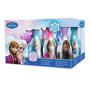 Disney Frozen Bowling Set and Despicable Me Minion Bowling Set only £1 was 2.99  B&M