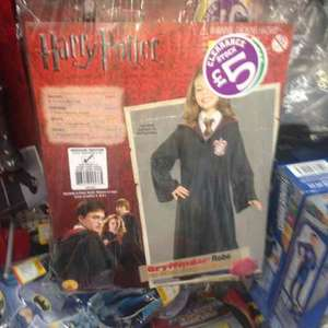 harry potter costume/ gown £5 clearance smyths