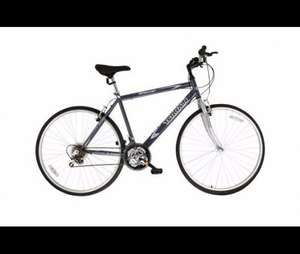 "Terrain Brecon Hybrid 28"" Wheels 21"" Frame Mens Bike V Brakes £60 or £30 of Tesco Clubcard vouchers"