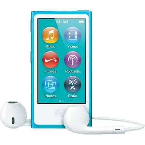 iPod Nano 16GB 7th Gen Blue - £94.45 (Green and Pink for £100) Sold by Equipement de Pointe and Fulfilled by Amazon.