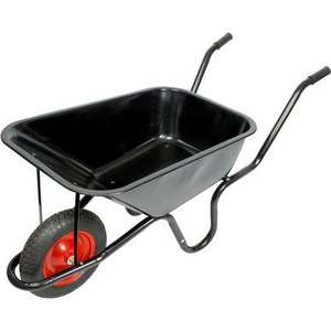 Steel Wheelbarrow from Toolstation was £34.80 now only £29.80 FREE Delivery at Toolstation