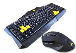 Sumvision Stryder Gaming Keyboard and Mouse Combo £9.99 MyMemory.com