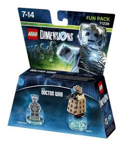 Doctor Who Lego Dimensions Fun Pack 13.49 @ BBC Shop (With Discount Code)