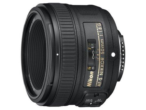 Nikon AF-S NIKKOR 50mm f/1.8G Lens - amazon.co.uk - £135