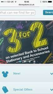 Disney Store 3 for 2 on back to school items includes backpack trolleys, back packs, lunch bags, water bottles. Instore and online although p&p is £3.95 if order is below £50. I brought 3 of the trolleys at £22.95 each which equates to £15.30 each. G