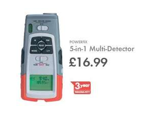 POWERFIX 5-in-1 Multi-Detector with 3yr warranty £16.99 @ LIDL