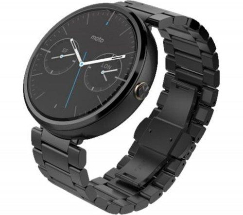 MOTOROLA Moto 360 Smartwatch - Dark Chrome £149.99 @ Currys