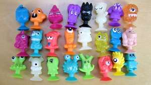 Stikeez. Lidl version of Moshi Monsters FROM FREE WITH SPEND.