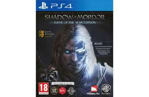 Middle Earth: Shadow Of Mordor - Game Of The Year Edition (PS4) £19.99 C&C @ Argos Via eBay