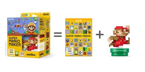 Super Mario Maker + Amiibo Limited Edition & Exclusive Pin Badge Set! £46.99 @ Game