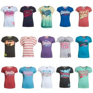 Womens Superdry Factory Second T-Shirts (New) £8.99 Each Delivered @ Superdry Via eBay (Buy 2 Get 1 Free)
