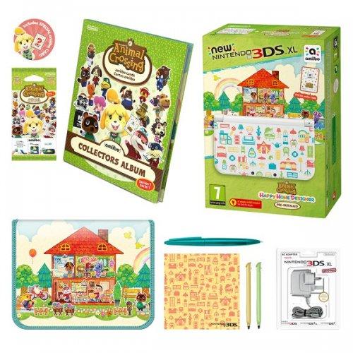 New Nintendo 3DS XL Animal Crossing: Happy Home Designer Edition Pack £209.99 @ Nintendo Store