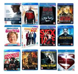 4 for £10 blurays / 4 for £9 DVDs (Preowned) + £2 P&P  @ XtraVision Marketplace