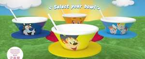 Get a Kelloggs Bowl when you buy 3 promo packs (TOP TIP count up all your children and multiply by 3 to work out how many boxes you should buy)