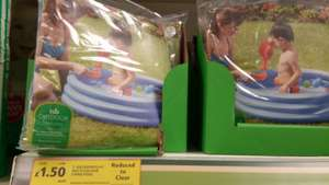 Outdoor play 3 ring pool £1.50 was £9 @ Tesco instore