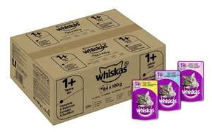 Whiskas Mixed Selection in Jelly Wet Cat Food Pouch, Pack of 84 £15.31 @ Amazon (Use Code SAVE30VC8)
