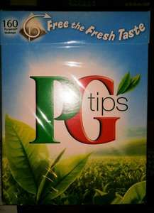160 PG Tips Pyramid Teabags (Old Packaging), £1.12 @ Tesco Instore