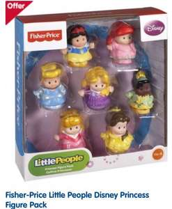 Fisher-Price Little People Disney Princess Figure Pack £14 at Boots - Online & Instore.