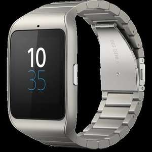 Sony SmartWatch 3 Stainless Steel £154 @ Goldsmiths - possibly about £52 in clubcard vouchers