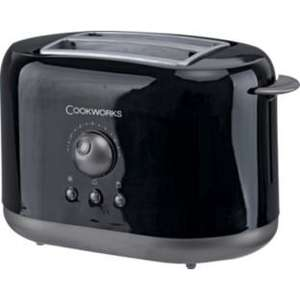 Cookworks 2 Slice Toaster now £7.99 @ Argos