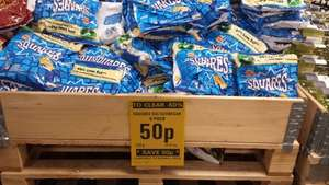 Walkers Squares Salt & Vinegar 6 pack 50p Netto