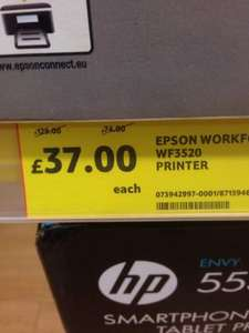 Epson WF3520 wifi all-in-one printer £37.. down from £129 @ Tesco