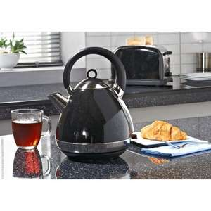Prolex Sparkle Pyramid Kettle - Black/Silver -  £19.99 B & M - In Store