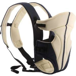 Ecosusi Classic Front and Back Baby Carrier £18 @ Sold by ECOSUSI INC and Fulfilled by Amazon.