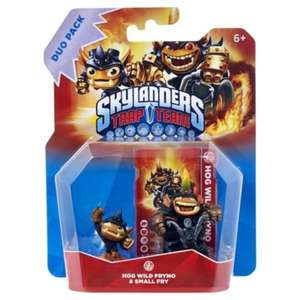 Skylanders Trap Team Wild Hog Duo Pack £6.75 Tesco Direct