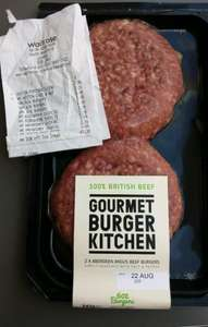 GBK burgers for 2.99 at Waitrose