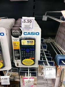 Casio FX85GT Plus scientific calculator £5.50 (from £11) @ Tesco