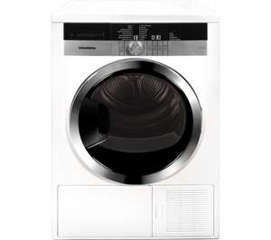 GRUNDIG GTN38250HGCW Heat Pump Tumble Dryer - White £419.99 at Currys
