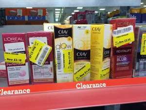 L'Oreal and Olay skin creams - 80% off - from £1.49 @ Morrisons