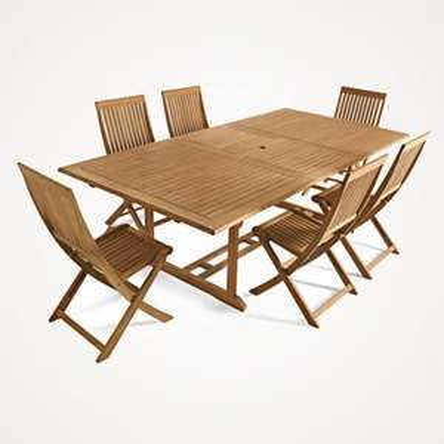 B&Q Stanmore - Roscana Teak Garden Furniture Clearance