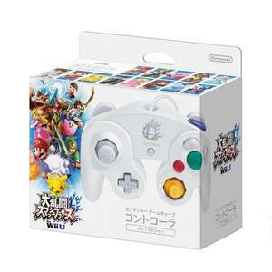 Super Smash Bros. Wii U Nintendo GameCube Controller, White [Japan Import] £19.59  (Prime) / £21.59 (non Prime) Sold by Otto & Co and Fulfilled by Amazon