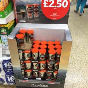 Nescafé Azera intenso and Americano £2.50 at Sainsbury's.