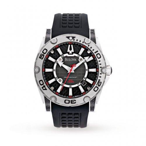 Bulova Precisionist Mens Watch 300m Diver ref 96B155 £199 rrp £115 @ Goldsmiths