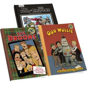 The Broons & Oor Wullie Annuals Pack 2016 £16 @ DC Thomson