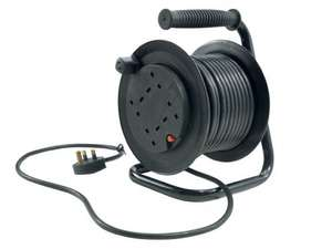 POWERFIX Cable Reel or Extension Cable £9.99 @ Lidl
