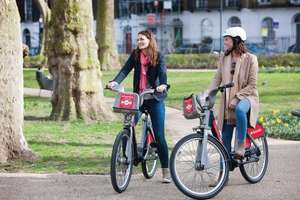 Hire a bike for free this weekend with Santander Cycles